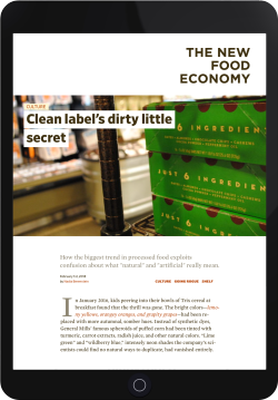 clean label's secret